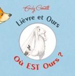 album jeunesse cache-cache ours lièvre amitié câlin